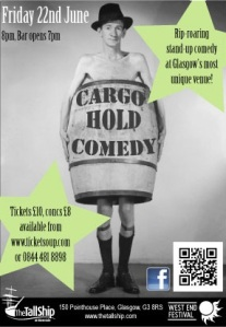 Comedy at The Tall Ship