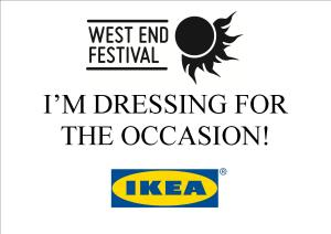 IKEA Best Dressed Window Competition poster