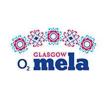 O2 Glasgow Mela Logo